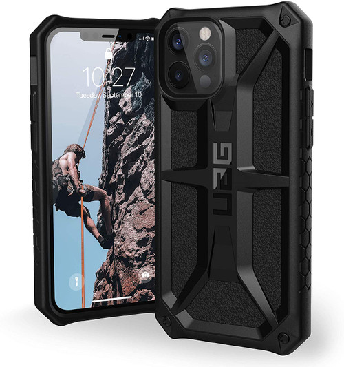 Urban Armor Gear (UAG) - Monarch Case for Apple iPhone 12 / 12 Pro Max/12 mini Black