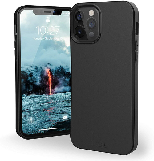 Urban Armor Gear (UAG) - Outback Biodegradable Case for Apple iPhone 12 Mini / 12 Pro/12 Pro Max Black