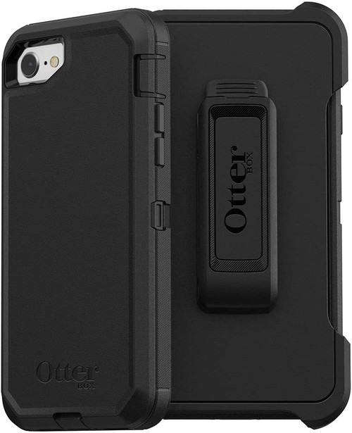 OtterBox Defender Case for Apple iPhone SE / 8 / 7 Black
