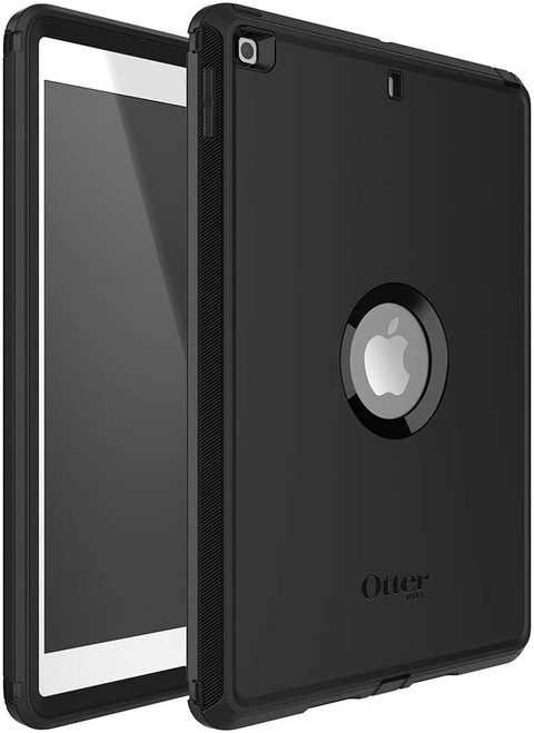 """OtterBox DEFENDER SERIES Case for iPad 7th, 8th & 9th Gen (10.2"""" Display - 2019, 2020 & 2021 version) - BLACK"""