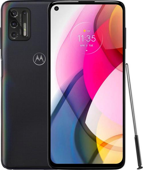 Motorola - Moto G Stylus (2021) 128GB Memory (Unlocked) - Aurora Black PAL80002US