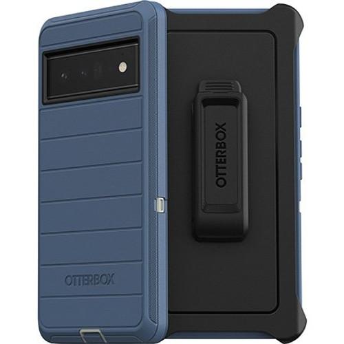 OtterBox - Defender Pro Case for Google Pixel 6 pro Blue 77-84078