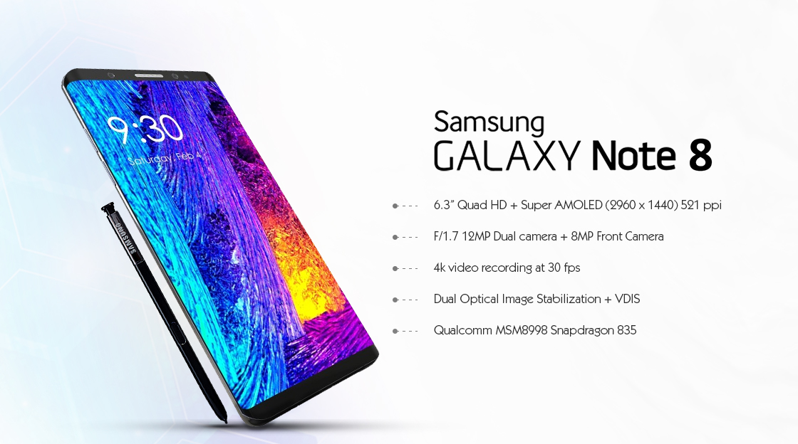 Samsung Galaxy Note 8 Factory Unlocked