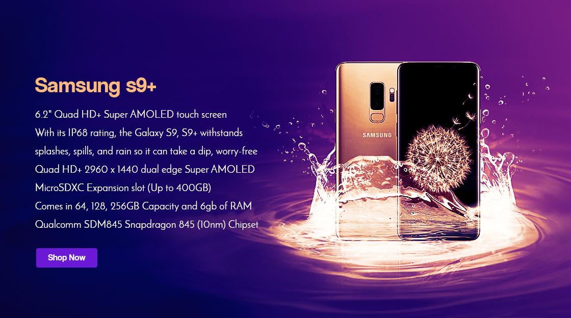 Samsung galaxy S9 plus  Factory unlock