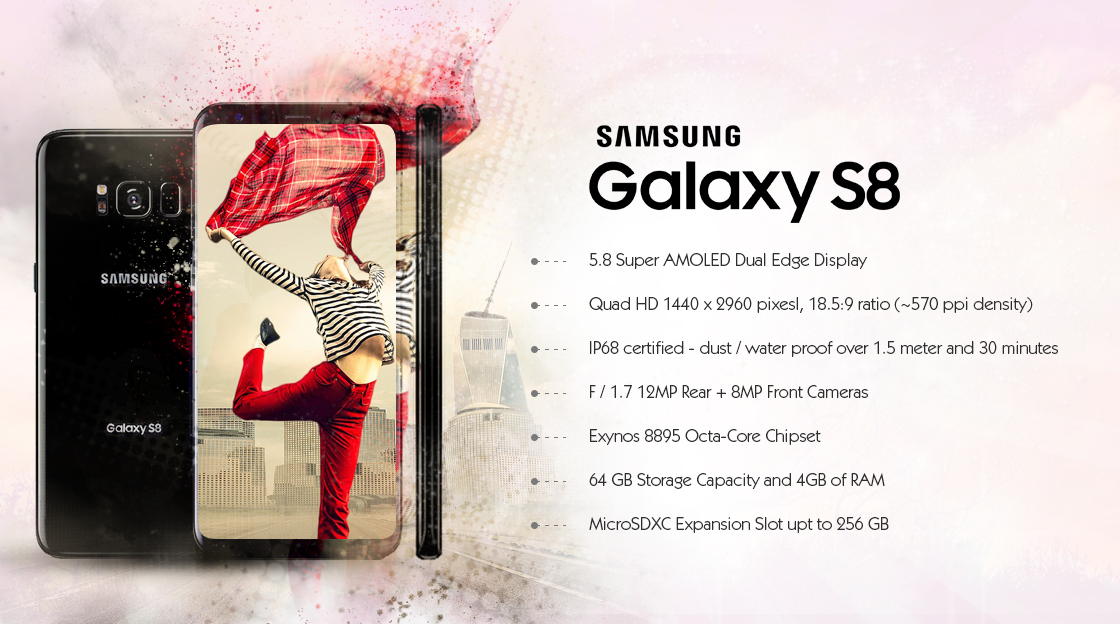 Samsung Galaxy S8 Factory Unlocked