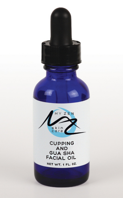 """This supercharged oil can be used for facial gua sha AND as a cleansing oil.  First and foremost, """"No flow, no glow!""""   Dr. Martha's Facial Gua Sha treatment: + promotes lymphatic drainage so reduces puffiness + increases circulation and improves lymphatic function, resulting in a naturally dewy, glowing complexion. + can be used to prevent and clear acne, decongesting the skin and lessening inflammation. + stimulates blood circulation which increases the amount of oxygen and nutrients that reach the skin and can result in an overall clearer and brighter complexion. + helps stimulate circulation, the technique itself oxygenates and carries nutrients to the skin cells. + contributes to a more lively, plumped up and youthful appearance.   Regular facial Gua Sha treatments can prevent the signs of aging such as sagging, dull and wrinkled skin.  The action of gently scraping the Gua Sha tool across the skin aids in serum/moisturizer product penetration, so those juicy phytonutrients go deeper into the layers of skin to feed us even more hydration.    We hold so much tension in our face and neck. Massage with a Gua Sha stone can really get into sticky knotted areas to release held muscular tension, thus allowing muscles to do their supportive jobs properly. You'll experience a dramatic release of tension with Gua Sha. This can be a great tool for TMJ and headache sufferers. Relaxing our facial muscles regularly also prevents and fades light expression lines. What it does:  Yes, it can be used as a FACIAL OIL CLEANSER too. Here's why:  Helianthus annuus seed oil (sunflower) has emollient properties so softens and smooths skin (reduce roughness and flakiness) and provides a protective layer to help prevent moisture loss. That's because it's high in oleic acid, linoleic acid, and vitamin E.  Rosehip oil is rich in essential fatty acids, vitamins A, B-carotene, C, D, & E to help boost collagen and improve skin elasticity and it's good for all skin types. It is said to addres"""