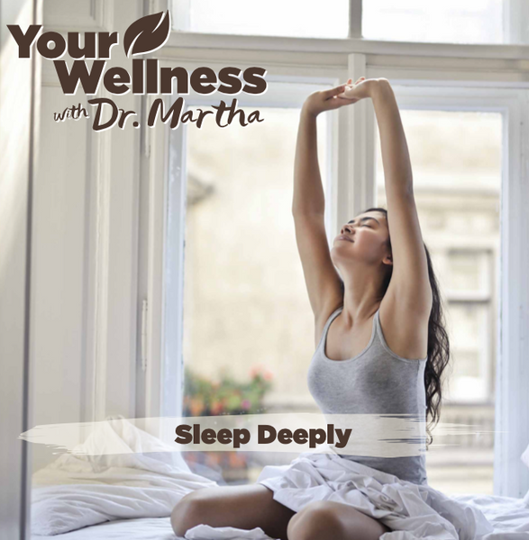 A guided wellness recording helps create peaceful, inner conditions needed for a truly restful night's sleep. Rest your mind and your body, nourish your soul and spirit.