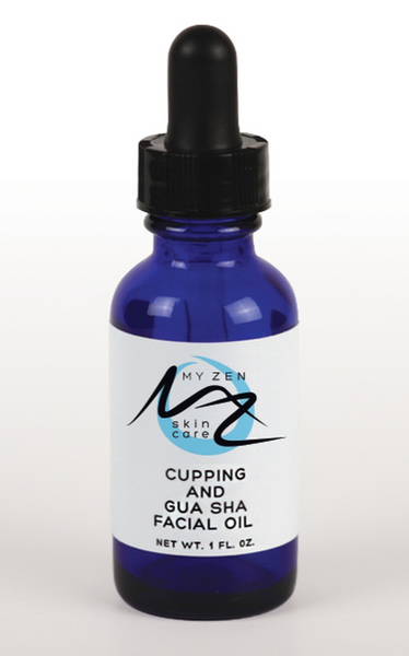 What it is:  This supercharged oil can be used for facial cupping, facial gua sha, AND cleansing.  Feel free to contact Dr. Martha for her to set up a virtual facial gua sha party for you and your friends so she can show you how she does it!  What it does:  Yes, it can be used as a facial oil cleanser too. Here's why:  Helianthus annuus seed oil (sunflower) has emollient properties so softens and smooths skin (reduce roughness and flakiness) and provides a protective layer to help prevent moisture loss. That's because it's high in oleic acid, linoleic acid, and vitamin E.  Rosehip oil is rich in essential fatty acids, vitamins A, B-carotene, C, D, & E to help boost collagen and improve skin elasticity and it's good for all skin types. It is said to address hyper-pigmentation and reduce fine lines and wrinkles. It is ideal for facial cupping and gua sha and for cleansing because it helps regenerate skin cells, clean pores, and eliminate blemishes. It is also known to soothe rosacea and dilated capillaries. Camellia leaves the skin smooth and more resilient. It helps to balance moisture in the skin and is good for all skin types. It is a transdermal carrier of bioactive compounds that help repair skin damage caused by sun and aging. It will help damaged or irritated skin like acne, psoriasis, eczema, and sunburn. It gives your skin a nourished look which is what facial cupping, gua sha, and using an oil cleanser are all about! Helichrysum targets age spots and fine lines and wrinkles. Used as a cleansing oil or for facial cupping and gua sha, it promotes healthy skin cell regeneration and gives you a youthful, glowing complexion.  Bamboo (infused into the oil) is rich in silica which is an essential nutrient that helps keep your skin stay plump and healthy. It is loaded with antioxidants that help minimize wrinkles, make skin look younger, and protect the skin from outside pollutants. It is moisturizing and helps fade dark spots by reducing melanin production.   We kn