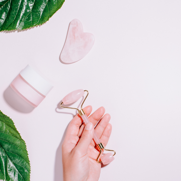 """Here's a kit for you to use to help your skin look youthful and fresh. It includes the gua sha tool that Dr. Lucas uses in her practice and the Mei Zen Facial Cupping and Gua Sha oil.   How Facial Gua Sha benefits your skin   First and foremost, """"No flow, no glow!""""  Dr. Martha's Facial Gua Sha treatment: + promotes lymphatic drainage so reduces puffiness + increases circulation and improves lymphatic function, resulting in a naturally dewy, glowing complexion. + can be used to prevent and clear acne, decongesting the skin and lessening inflammation. + stimulates blood circulation which increases the amount of oxygen and nutrients that reach the skin and can result in an overall clearer and brighter complexion. + helps stimulate circulation, the technique itself oxygenates and carries nutrients to the skin cells. + contributes to a more lively, plumped up and youthful appearance.   Regular facial Gua Sha treatments can prevent the signs of aging such as sagging, dull and wrinkled skin.  The action of gently scraping the Gua Sha tool across the skin aids in serum/moisturizer product penetration, so those juicy phytonutrients go deeper into the layers of skin to feed us even more hydration.    We hold so much tension in our face and neck. Massage with a Gua Sha stone can really get into sticky knotted areas to release held muscular tension, thus allowing muscles to do their supportive jobs properly. You'll experience a dramatic release of tension with Gua Sha. This can be a great tool for TMJ and headache sufferers. Relaxing our facial muscles regularly also prevents and fades light expression lines."""