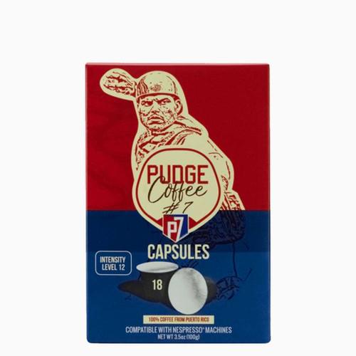 Pudge Coffee Capsules 8/18