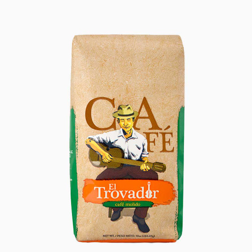 Cafe El Trovador Ground Coffee 10oz.