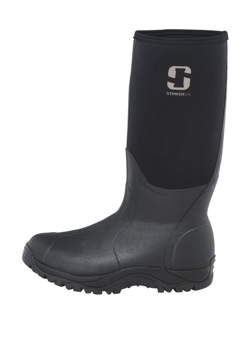 Striker Ice Boots, Black