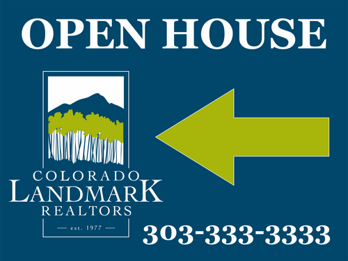 Colorado Landmark Open House 24''W x 18''H