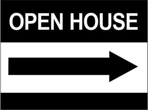 24''W x18''H Open House Sign - 05