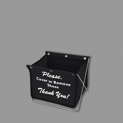 Madison Shoe Cover Holder - Black