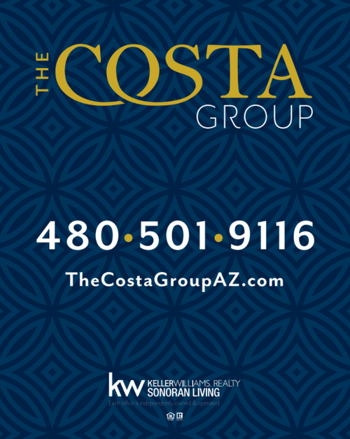 The Costa Group For Sale Sign 24''W x 30''H