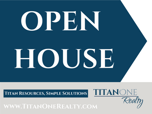 Open House Directional Sign - 24''W x 18''H