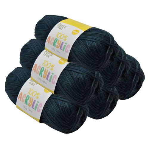 Acrylic Yarn 100g 189m 8ply Bottle Green (Product # 093207)