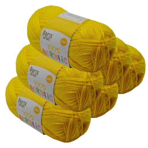 Acrylic Yarn 100g 189m 8ply Sunshine (Product # 122587)