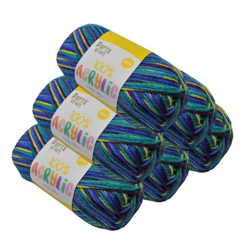 Acrylic Yarn 100g 189m 8ply Aqua Marine (Product # 093399)