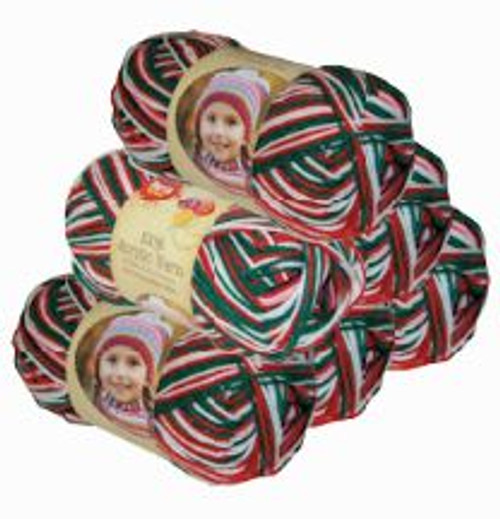 Acrylic Yarn 100g 189m 8ply Christmas (Product # 093412)