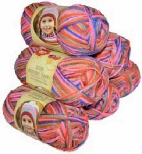 Acrylic Yarn 100g 189m 8ply Fantasy (Product # 093467)