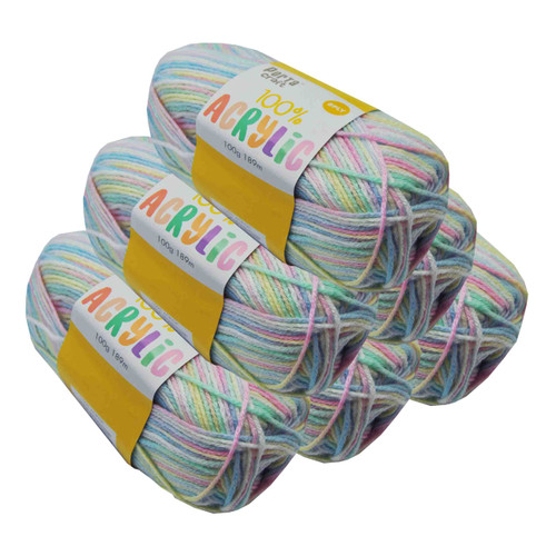 Acrylic Yarn 100g 189m 8ply Flutterby (Product # 122655)