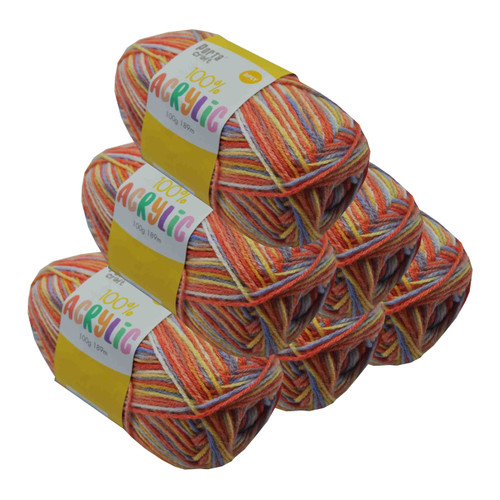 Acrylic Yarn 100g 189m 8ply Applejack (Product # 122679)