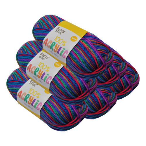 Acrylic Yarn 100g 189m 8ply Jelly Belly (Product # 122723)