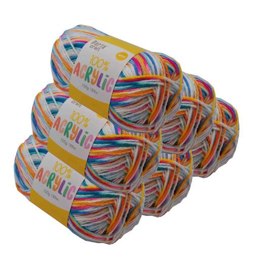 Acrylic Yarn 100g 189m 8ply Circus (Product # 158425)