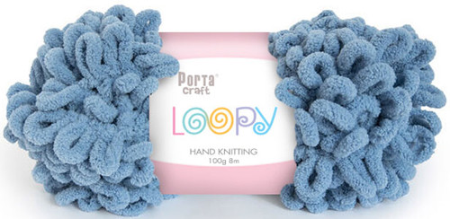 Loopy Yarn 100g 8m Sky Blue (Product # 163221) (Hand Knitting)