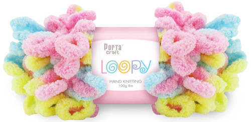 Loopy Yarn 100g 8m Pastel Baby (Product # 163238) (Hand Knitting)