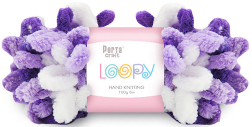 Loopy Yarn 100g 8m Purple (Product # 163276) (Hand Knitting)