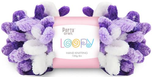 Loopy Yarn 100g 8m Purple (Product # 163276) (Hand Knitting)