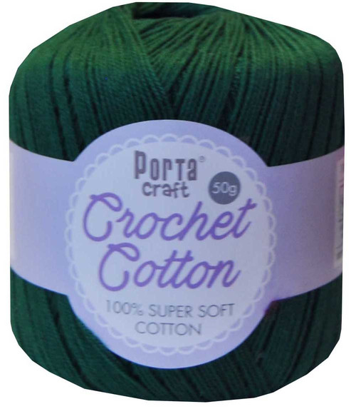 Crochet Cotton 50g 145m 3ply Bottle (Product # 156643)