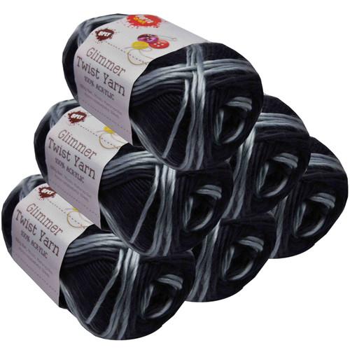 Glimmer Twist Yarn 100g 134m Metropolis (Product # 152164)