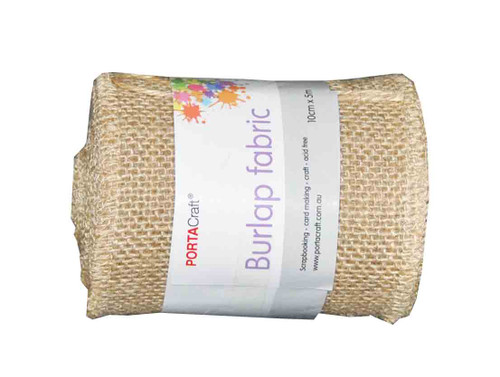 Burlap Fabric Roll 100mmx5m (Product # 145463)