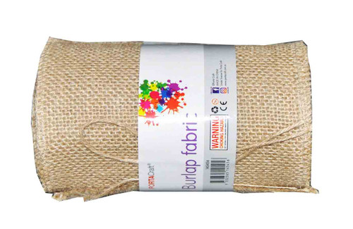 Burlap Fabric Roll 145mmx5m (Product # 145456)