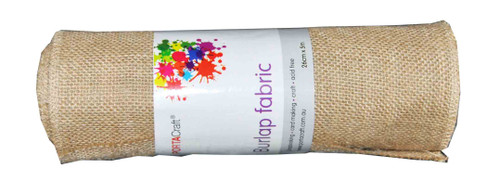 Burlap Fabric Roll 260mmx5m (Product # 145449)
