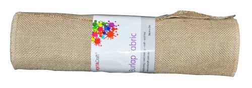 Burlap Fabric Roll 360mmx5m (Product # 145432)