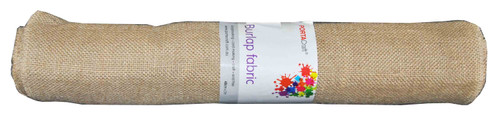 Burlap Fabric Roll 480mmx5m (Product # 145425)
