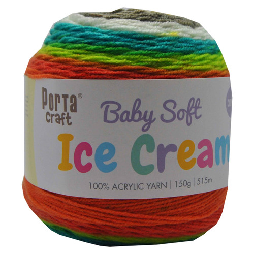 Baby Ice Cream Yarn 150g 515m 3ply Autumn Day (Product # 158210)