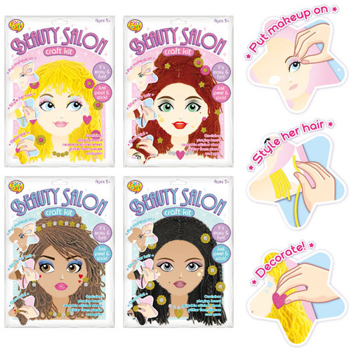 Beauty Salon Craft Kit 4 Assorted (Random Picked) Designs (Product # 160367)