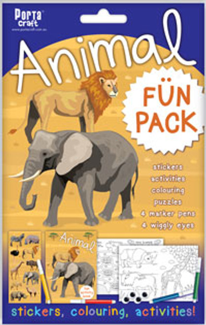 Activity Fun Pack Animal x4 (Product # 143575)