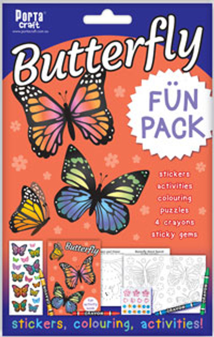 Activity Fun Pack Butterfly x4 (Product # 143599)