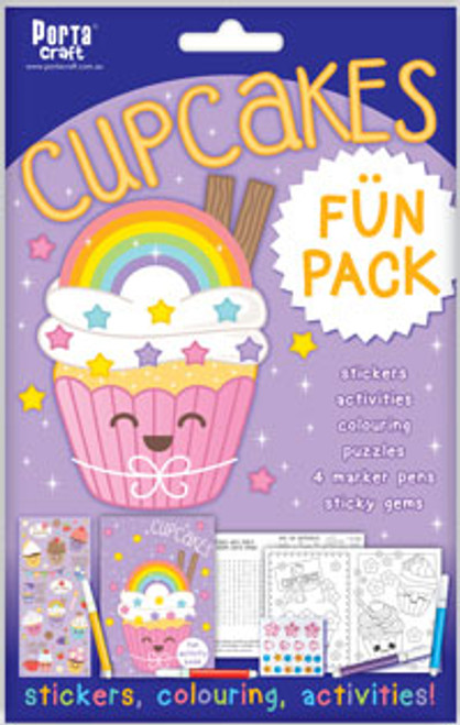Activity Fun Pack Cupcakes x4 (Product # 143612)