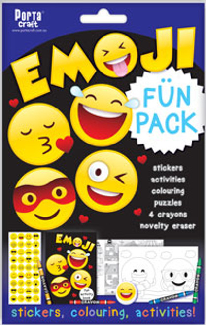 Activity Fun Pack Emoji x4 (Product # 143650)