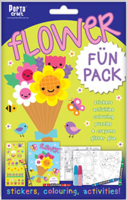 Activity Fun Pack Flower x4 (Product # 143681)