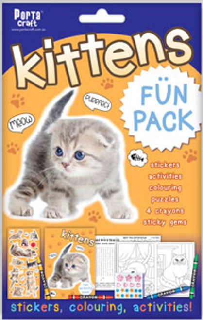 Activity Fun Pack Kittens x4 (Product # 143605)
