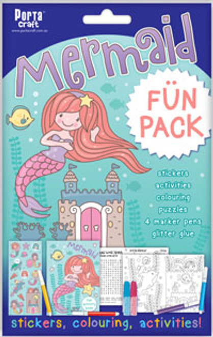 Activity Fun Pack Mermaid x4 (Product # 143698)